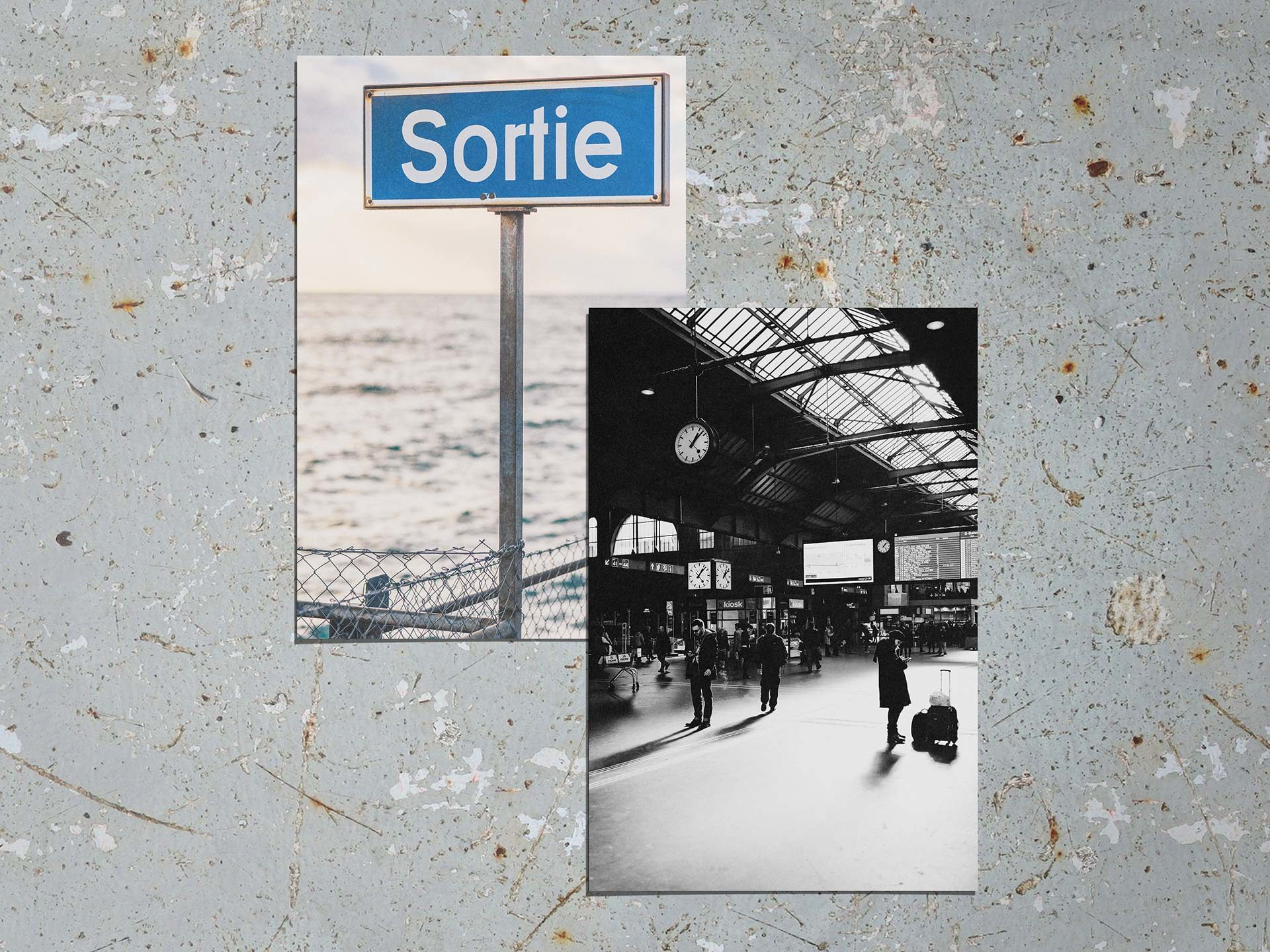 Cartes Postales Immersions Gares