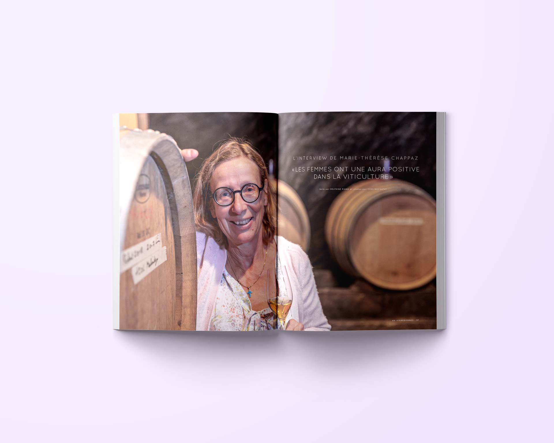 Immersions Magazine Vigneronnes